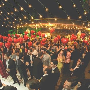 Festa de Casamento Noturna